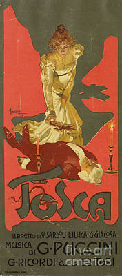 Tosca Painting - Tosca by MotionAge Designs