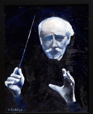 Painting - Toscanini by Jack Riddle