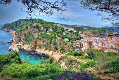 Photograph - Tossa De Mar by Nadia Sanowar