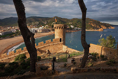 Photograph - Tossa De Mar On Costa Brava In Spain by Artur Bogacki