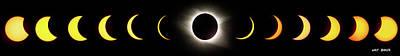 Photograph - Total Eclipse 2017 by Walt Baker