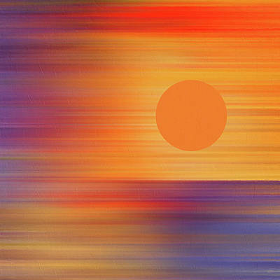 Total Eclipse Of The Sun Mixed Media - Total Eclipse Of The Heart Abstract Eclipse 2017 by Georgiana Romanovna