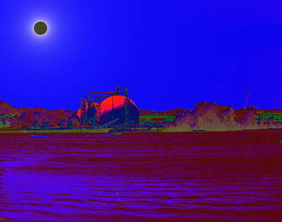 Photograph - Total Eclipse Of The River by Mustafa Abdullah