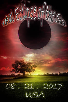 Photograph - Total Eclipse Of The Sun In America by Debra and Dave Vanderlaan