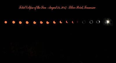 Total Eclipse Of The Sun Photograph - Total Eclipse Of The Sun by Kristin Elmquist