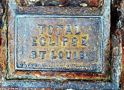 Photograph - Total Eclipse St Louis by Christopher McKenzie