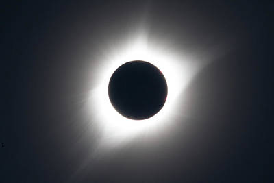 Photograph - Total Solar Eclipse And The Sun's Corona by Tony Hake