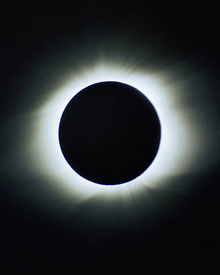 Photograph - Total Solar Eclipse - Aruba 1998 by Lon Dittrick