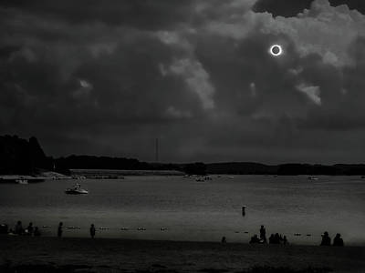 Photograph - Total Solar Eclipse At Clemson by Louise Lindsay
