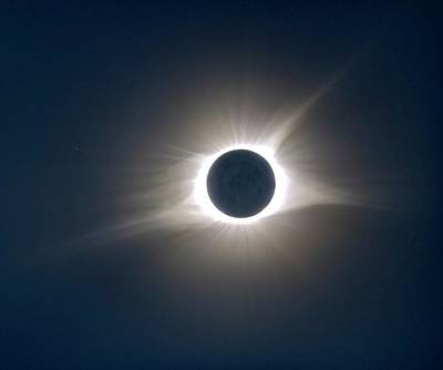 Photograph - Total Solar Eclipse Hdr by Jonathan Sabin