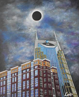 Painting - Totality by Joseph Love