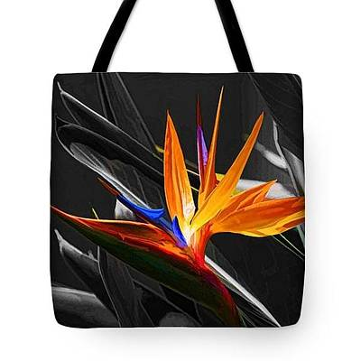 Photograph - Tote Bag - A Bird In Paradise by HH Photography of Florida