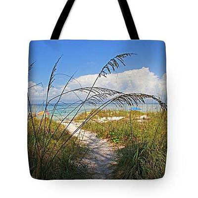 Photograph - Tote Bag - A Day At The Beach by HH Photography of Florida