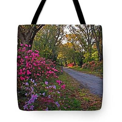 Photograph - Tote Bag - Flowers - Spring Fling by HH Photography of Florida