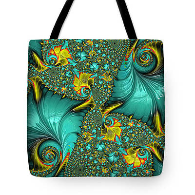 Digital Art - Tote Bag - Gifts From The Sea by HH Photography of Florida