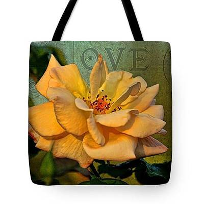 Photograph - Tote Bag - Language Of The Heart by HH Photography of Florida
