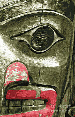 Photograph - Totem 4 by Gregory Dyer
