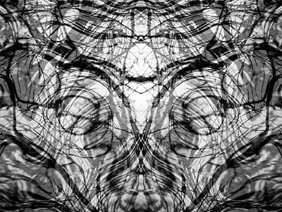 Totem Flow Art Print by Rod Stewart