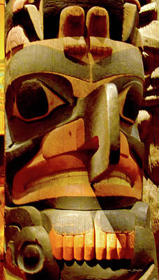 Photograph - Totem Heritage Center Ketchikan Alaska 3 by Barbara Snyder
