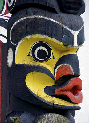 Photograph - Totem Heritage Center Ketchikan Alaska by Barbara Snyder