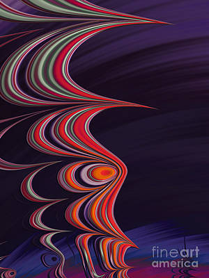 Artistic Digital Art - Totem by John Edwards