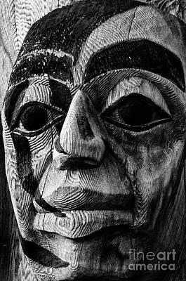 Photograph - Totem Pole Alaska 5 by Bob Christopher