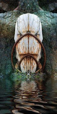 Photograph - Totem by WB Johnston