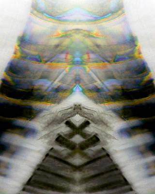 Test Pattern Digital Art - Totem_005 by Alex W McDonell