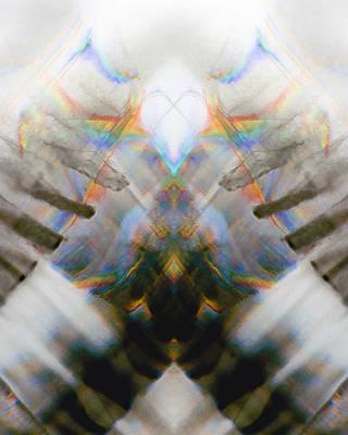 Test Pattern Digital Art - Totem_006 by Alex W McDonell