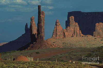 Photograph - Totems In The Afternoon by Stan and Anne Foster