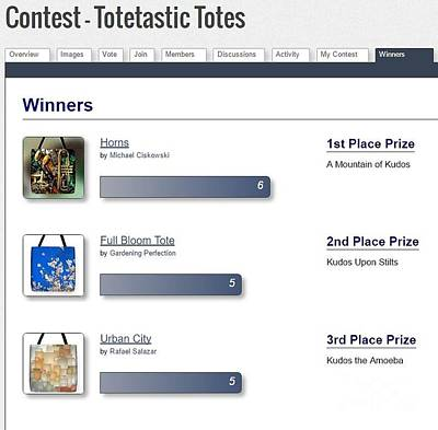 Photograph - Totetastic Winners by Jack Torcello