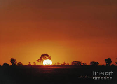 Photograph - Tottenham Sunset by Vicki Ferrari