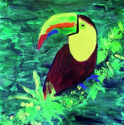 Painting - Toucan by Donald J Ryker III