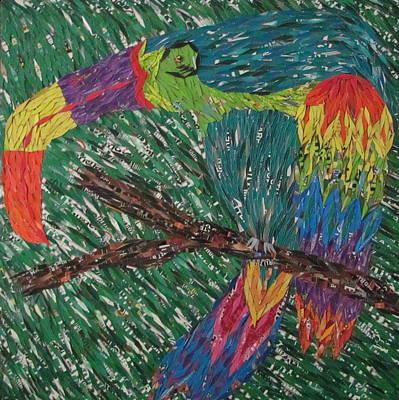 Toucan Mixed Media - Toucan by Penny Stark