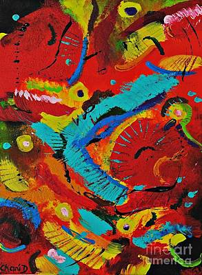 Painting - Toucans by Chani Demuijlder