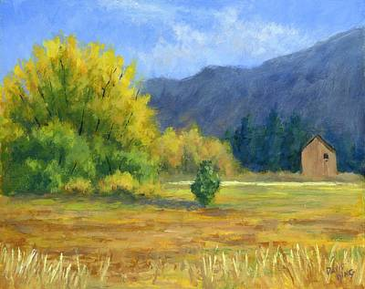 Painting - Touch Of Autumn by David King