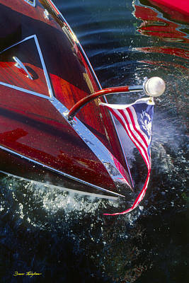 Touch Of Class - Lake Geneva Wisconsin Art Print by Bruce Thompson