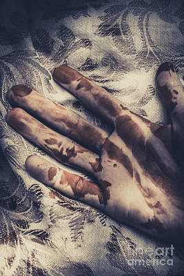 Dirty Linen Photograph - Touch Of Death by Jorgo Photography - Wall Art Gallery