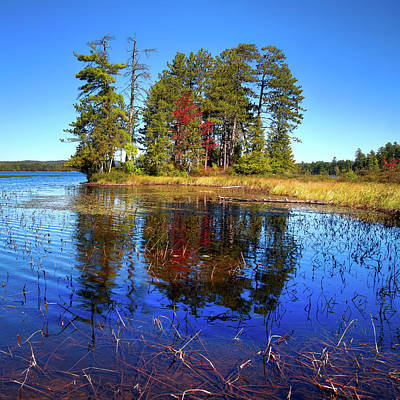 Photograph - Touch Of Fall On Raquette Lake by David Patterson