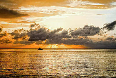 Jamaican Sunset Photograph - Touch Of God by Todd Reese