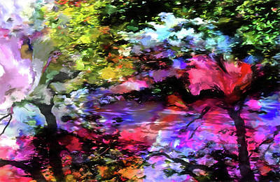 Digital Art - Touch Of Monet by Sherri's - Of Palm Springs