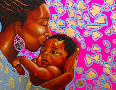 Painting - Touch Of Mother Love by Emery Franklin