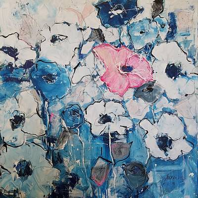 Painting - Touch Of Pink by Terri Einer