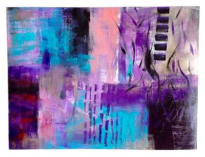 Painting - Touch Of Violet by Suzzanna Frank