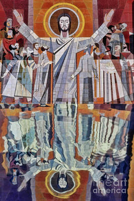 Photograph - Touchdown Jesus At Norte Dame by David Arment