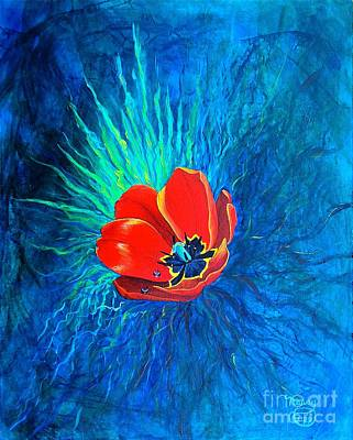 Touched By His Light Art Print by Nancy Cupp