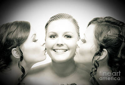 Touching Display Of Wedding Affection Art Print by Jorgo Photography - Wall Art Gallery
