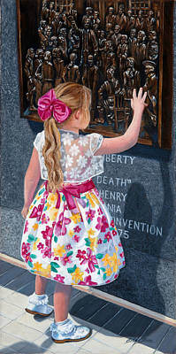 Painting - Touching Heritage by Alice Betsy Stone