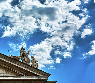 Photograph - Touching The Sky by Fine Art Photography Prints By Eduardo Accorinti