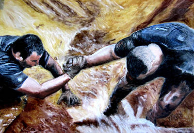 Tough Mudder Wounded Warrior Contest Art Print